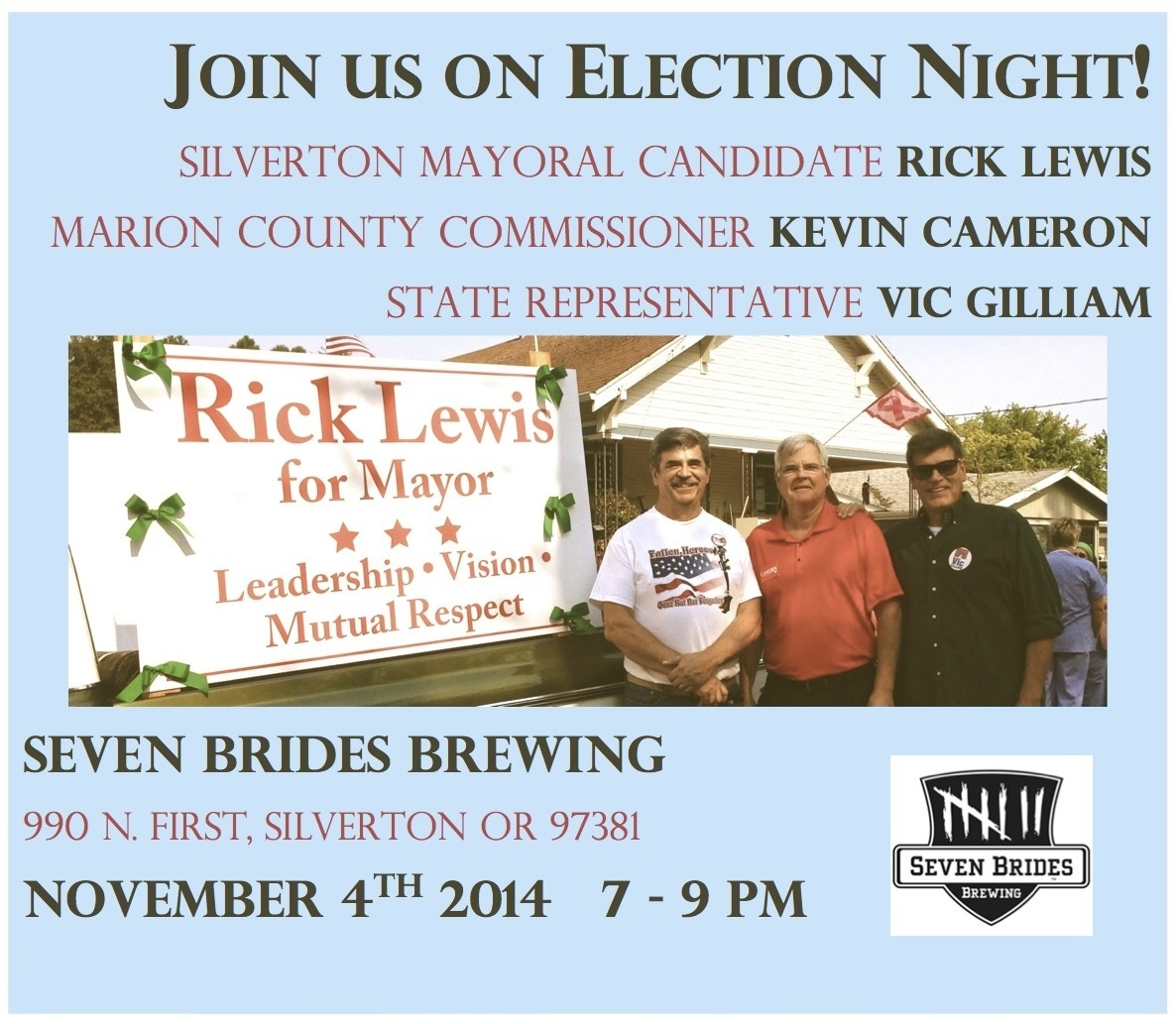 11 04 14 Election Night In Silverton 4 Newsletter