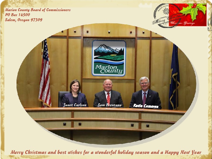 Christmas Card BOC 2014